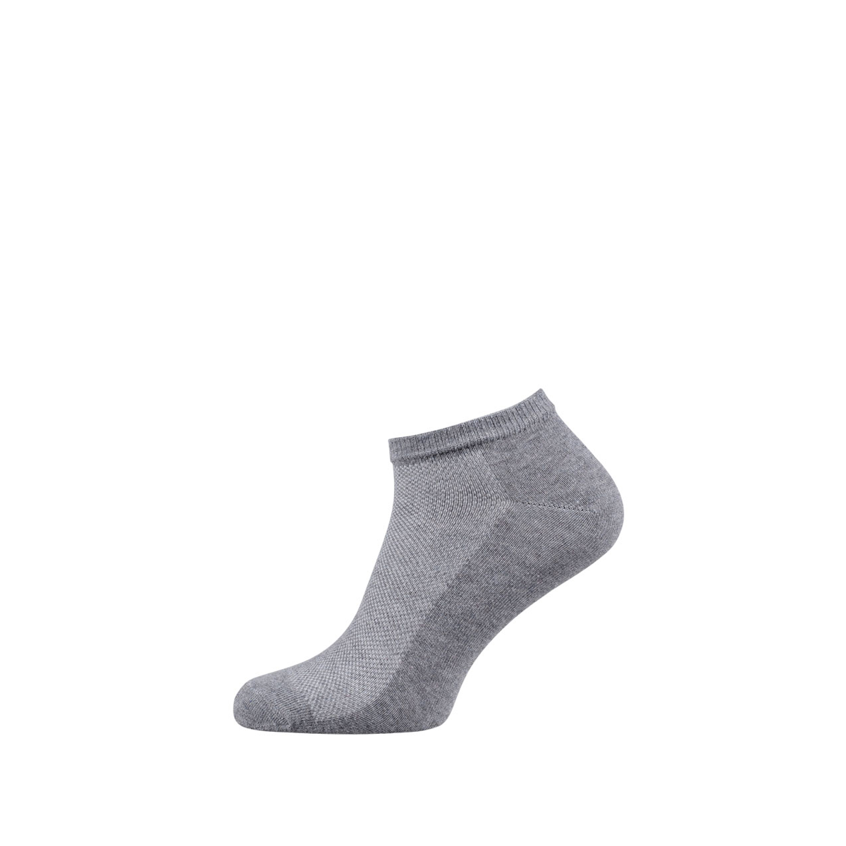 Breathable Ankle Socks for Men and Women Light Grey