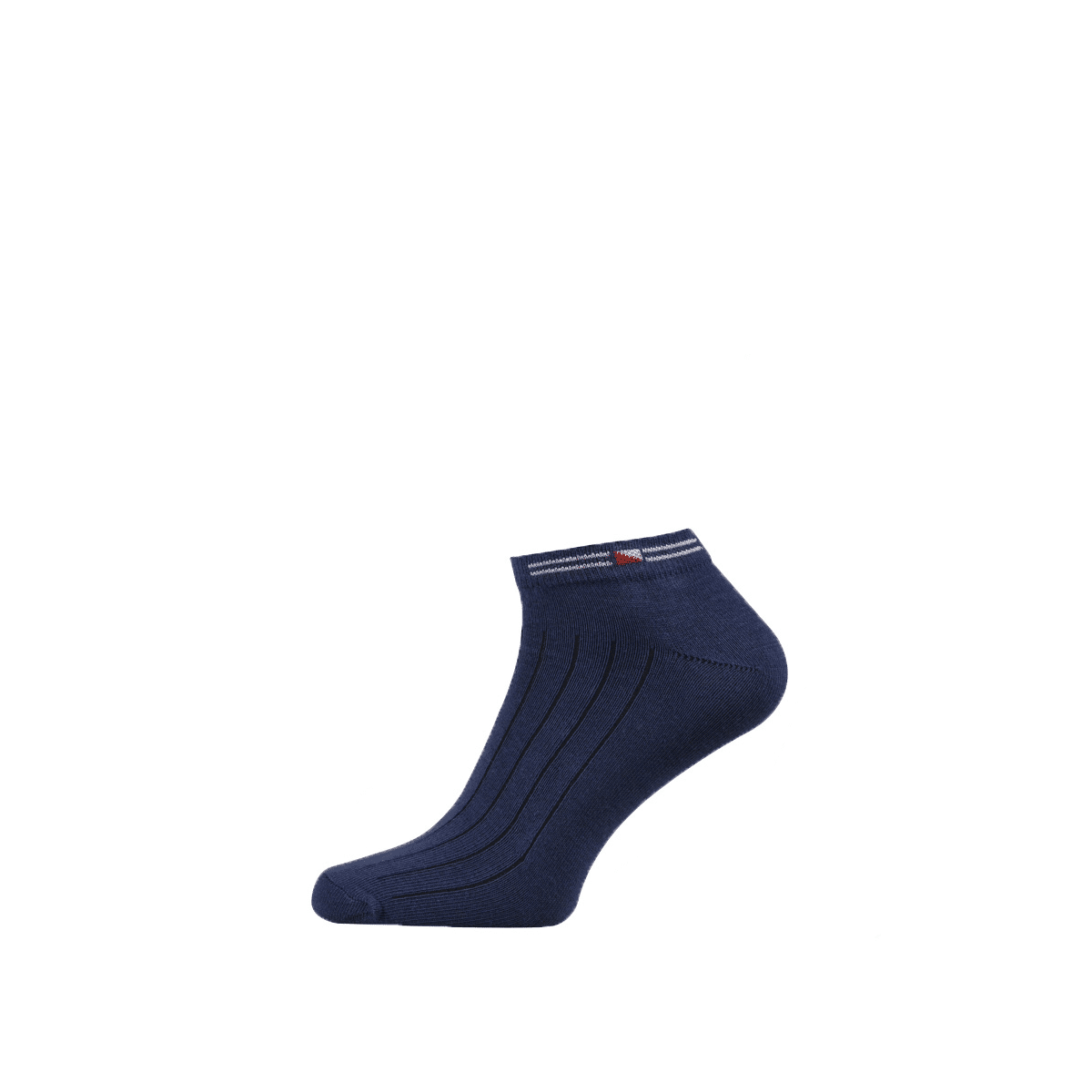 Cotton Ankle Socks for Men and Boys Navy Blue